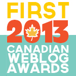 Logo - Canadian Weblog Awards 2013