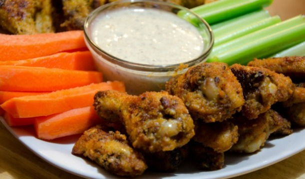 Best Ever Baked Cajun Chicken Wings Amp Gar Par Dressing Yummymummyclub Ca