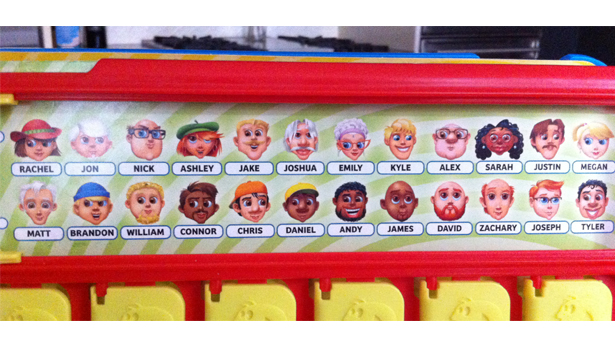 This is a picture of Guess Who Character Sheets Printable within animal