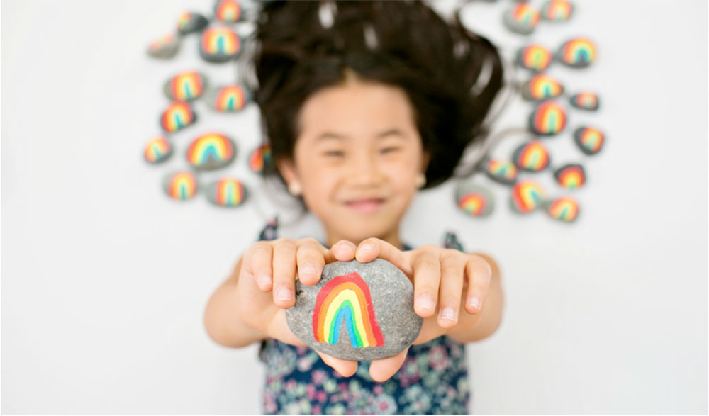 How one 7 year old is spreading joy around the world for White rainbow project