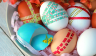 Easter egg decoration - Washi Tape
