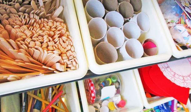 Organize Your Craft Space in 10 Minutes | YummyMummyClub.ca