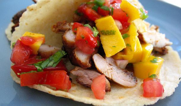 Spicy Chicken Tacos Recipe