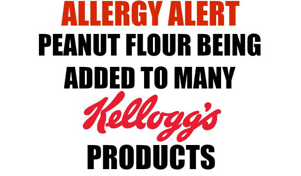 ALLERGY ALERT: Peanut flour being added to these popular kids' snack items