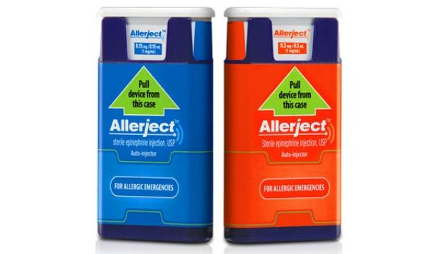 Allerject recall in Canada