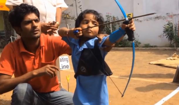 Archery_toddler