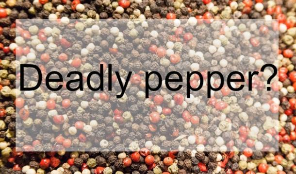 Are pink peppercorns deadly for those with nut allergies?