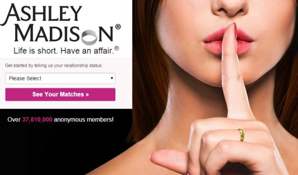 Ashley Madison Website hacked