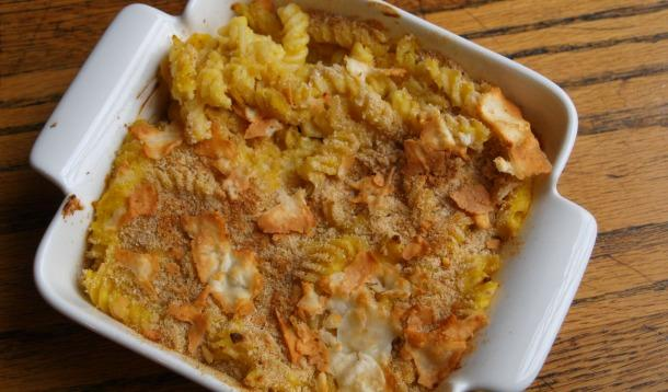 Butternut Squash Baked Mac And Cheese Without The Cheese