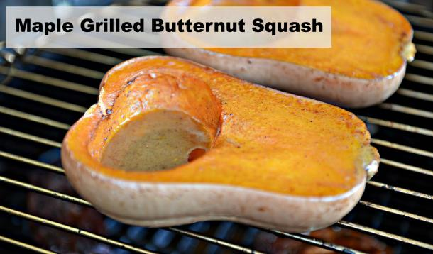 maple grilled butternut squash