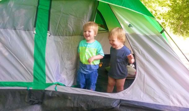 7 Tips To Help You Stay Sane When Camping With Kids