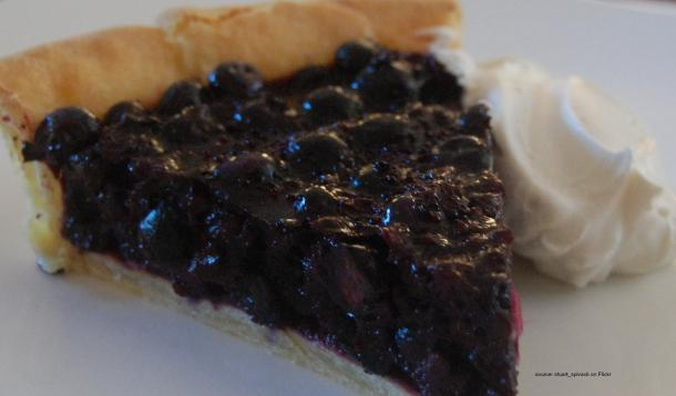 A young girl suffered an anaphylactic reaction after eating a blueberry pie, but she wasn't allergic to the pie. Could pesticides on the berries be to blame?