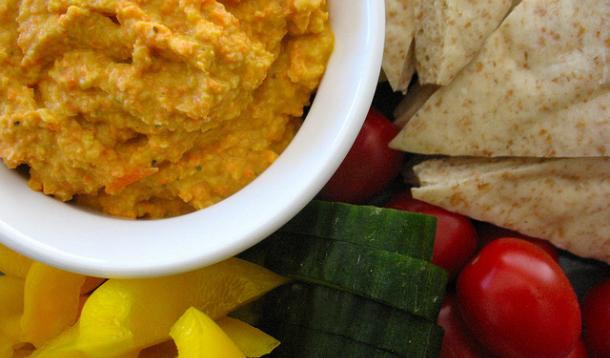 Carrot Hummus Recipe