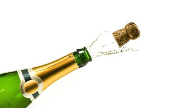 opening champagne bottles