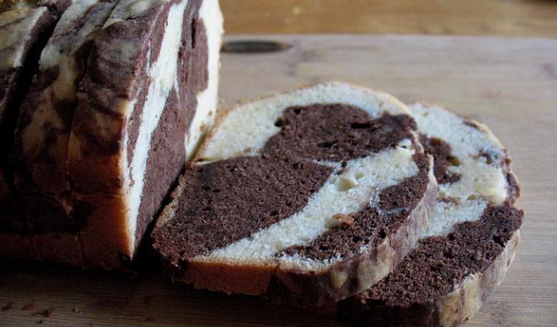 Chocolate Swirl Pound Cake
