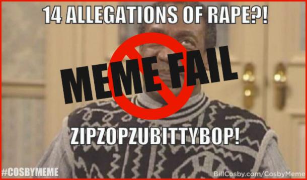 BillCosby, Cosby Meme Fail, Internet Memes