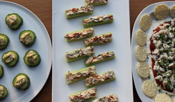 Easy Cream Cheese Appetizers Times Three | YummyMummyClub.ca