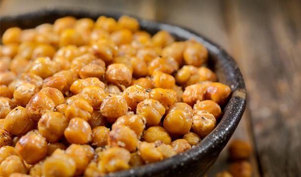Crispy Pan-Fried Chickpeas