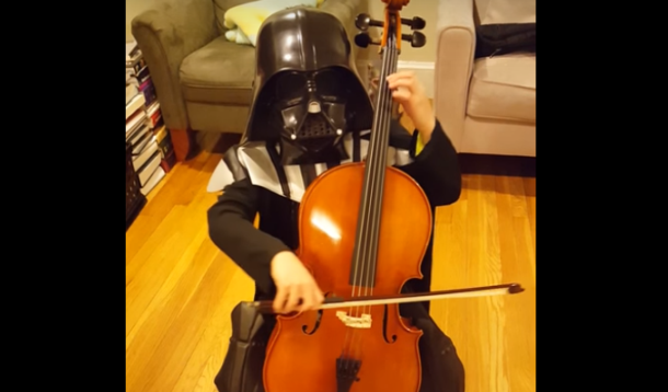 Darth Vader plays Cello | YummyMummyClub.ca