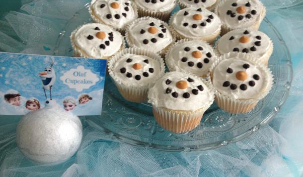 How-To-Make-Disney-Frozen-Olaf-Cupcakes