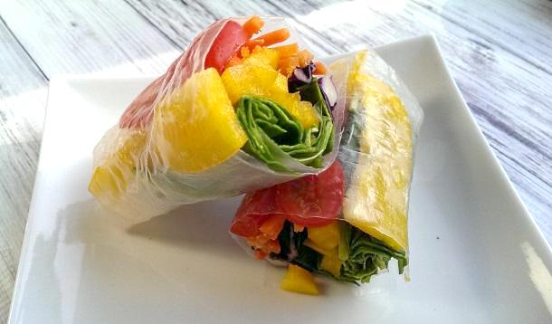 Rice Paper Rainbow Wrap