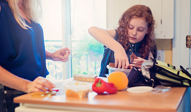 Get Your Tween Packing Their Own School Lunches