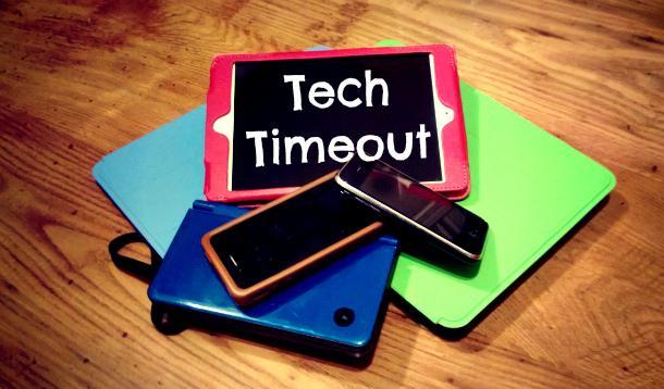 taking a tech timeout