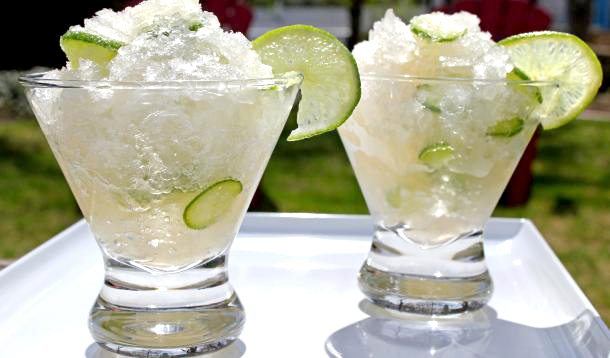 The classic G&T gets a refreshing update with fresh herbs and the slushie treatment