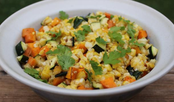 A Make-Ahead Grilled Corn Salad so delicious there might not be any leftovers