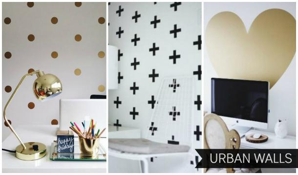 Are You Looking For A Modern Way To Add Some Pattern To Your Walls But Are  A Bit Afraid Of Wallpaper Or Stencils? Wall Decals May Be A Great Solution  For ...