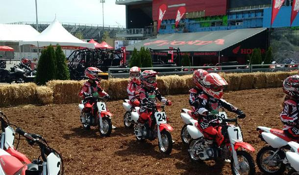 Honda Junior Red Riders