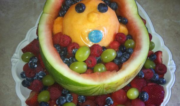 baby shower fruit ideas a fun and delicious baby shower idea