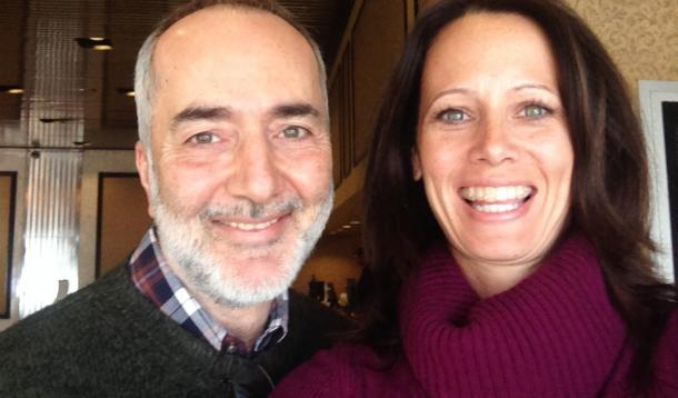 Raffi and Andrea Nair