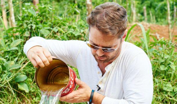 Jason Priestley, clean water initiative