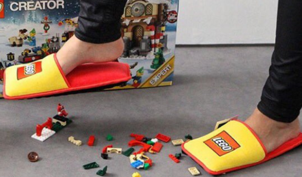 Lego Slippers Save Parent's Feet | YummyMummyClub.ca