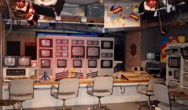 MuchMusic Studio in the 80's