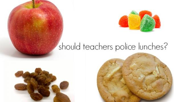 Should teacher's make rules about what kids are allowed to eat as snacks at school?