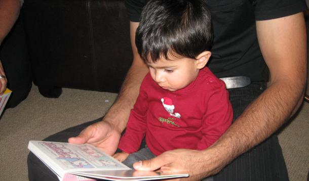 Toddlers children reading