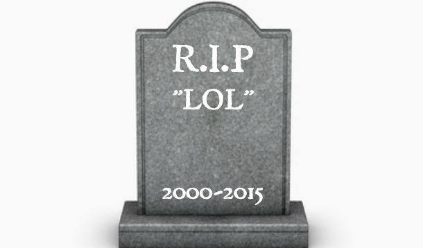 The end of LOL