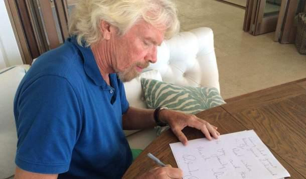 How this British billionaire Richard Branson is turning a perceived negative into a positive.