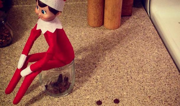 Elf On The Shelf, Buddy, Christmas traditions, elf, shelf, creepy, spying on kids, elf on the shelf, buddy the elf, creativity, parenting, christmas, jen warman, megan daley, should I get an Elf on the Shelf