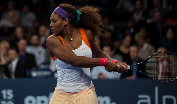 Serena Williams Strong Athletic Woman