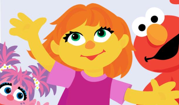 Sesame Street Autism Muppet