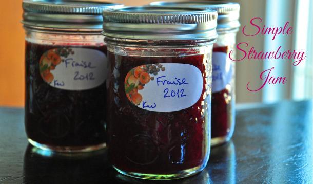 Simple Strawberry Jam Recipe