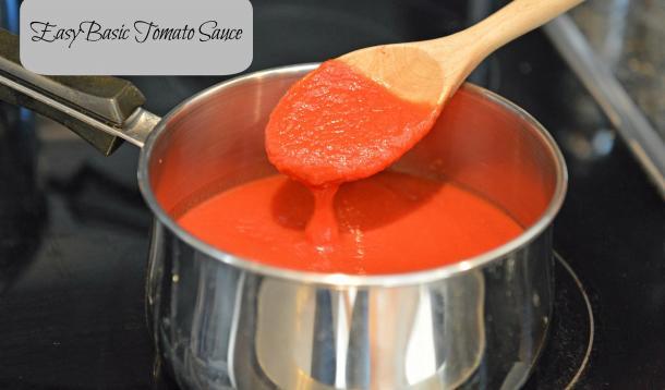 Easy tomatoes sauce recipe