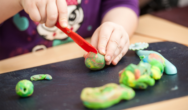 How to Make Homemade Play Dough