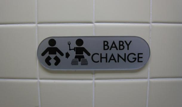 Baby change tables mandatory