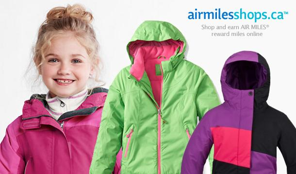 air miles ski jacket shopping