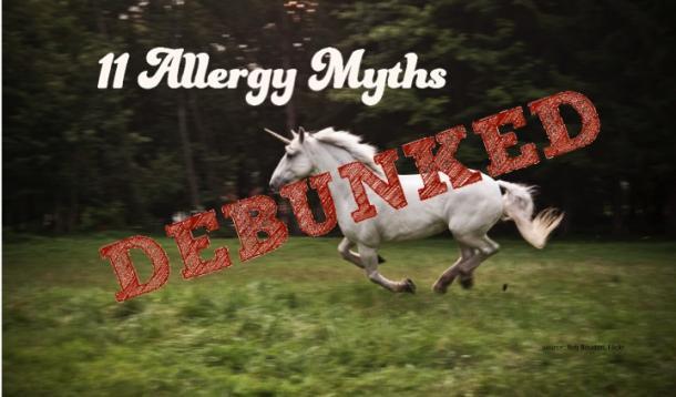 allergy myths debunked