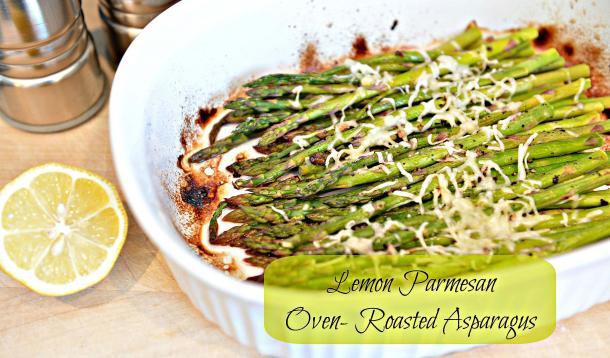 asparagus with lemon and parmesan